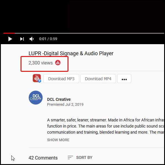 LUPR -Digital Signage & Audio Player - YouTube